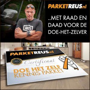 PARKETREUS - DOE HET ZELF KENNIS PAKKET