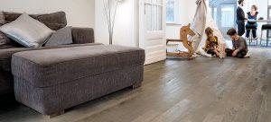 PVC Vloeren. Prima geschikt vooor vloerverwarming.